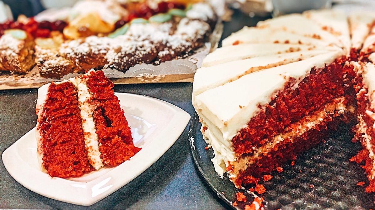 gabaliņš Latvijas jeb red velvet cake
